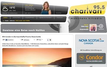 charivari gewinnspiel reise nach halifax in kanada zu gewinnen gewinnspiele 2019. Black Bedroom Furniture Sets. Home Design Ideas
