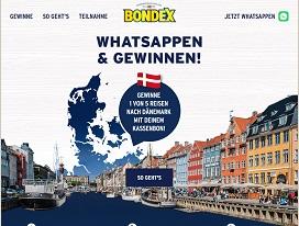 Bondex Whatsapp Gewinnspiel, Bondex Gewinnspiel