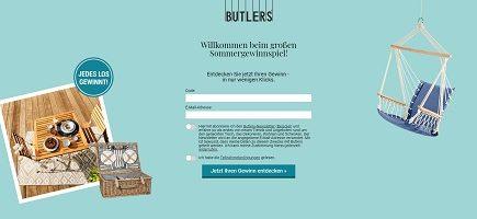 Butlers Gewinnspiel