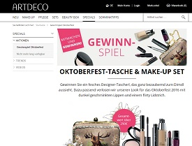 artdeco gewinnspiel make up gewinnen gewinnspiele 2018. Black Bedroom Furniture Sets. Home Design Ideas
