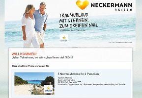 Neckermann Gewinnspiel