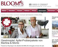 Blooms Deco Gewinnspiel