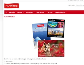 Harenberg Gewinnspiel