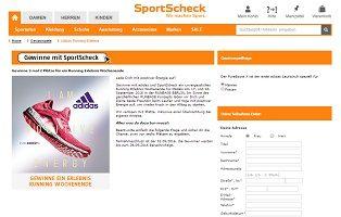 SportScheck Gewinnspiel