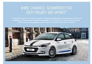 Hyundai I20 Gewinnspiel