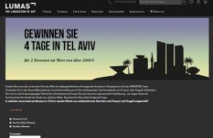 Tel Aviv Reise Gewinnspiel, Lumas Gewinnspiel