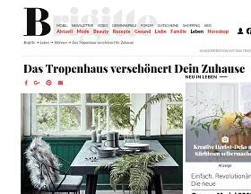 tropenhaus gutschein gewinnen beim brigitte gewinnspiel. Black Bedroom Furniture Sets. Home Design Ideas