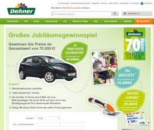http www dehner de landing gewinnspiel
