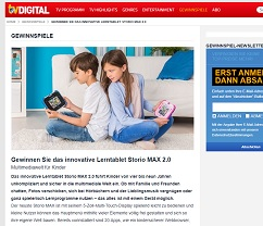 kinder tablet gewinnen beim tv digital gewinnspiel gewinnspiele 2018. Black Bedroom Furniture Sets. Home Design Ideas