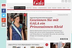 Gewinnspiel Gala