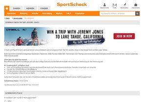 www sportscheck de gewinnspiel