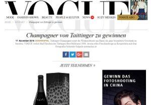 Vogue gewinnspiel 2019