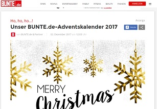 bunte adventskalender gewinnspiel gewinnspiele 2018. Black Bedroom Furniture Sets. Home Design Ideas