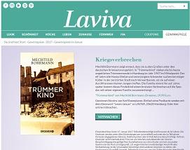 Laviva Com Gewinnspiele mechthild borrmann gewinnspiel bei laviva gewinnspiele 2018