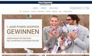 Peek und cloppenburg gewinnspiel 1000 euro