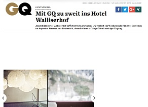 waliserhof gewinnspiel bei gq gewinnspiele 2018. Black Bedroom Furniture Sets. Home Design Ideas