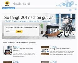 Web.de Gewinnspiel 20.000