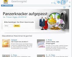 Web.de Gewinnspiel