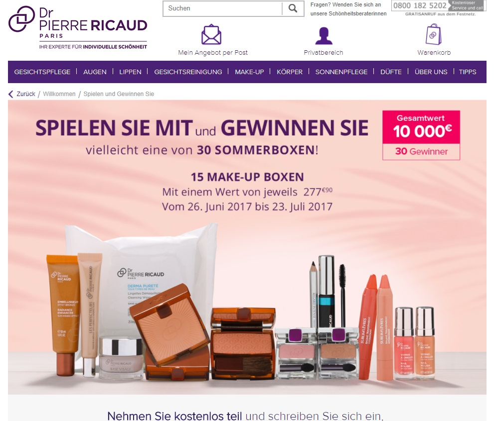ricaud gewinnspiel gewinnspiele 2018. Black Bedroom Furniture Sets. Home Design Ideas