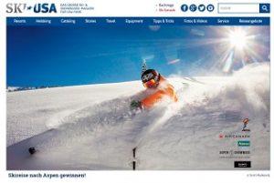Ski-Reise Aspen Gewinnspiel