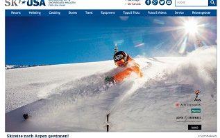 Ski-Reise USA Gewinnspiel