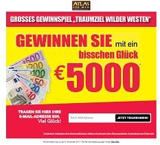 Atlas for Men 5000 Euro Gewinnspiel,Atlas for Men Gewinnspiel