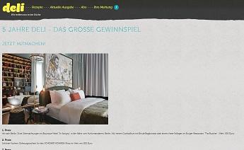 deli magazin gewinnspiel kurzurlaub in berlin gewinnen gewinnspiele 2018. Black Bedroom Furniture Sets. Home Design Ideas