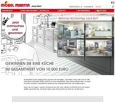 m bel martin k che gewinnspiel im wert von euro gewinnspiele 2019. Black Bedroom Furniture Sets. Home Design Ideas