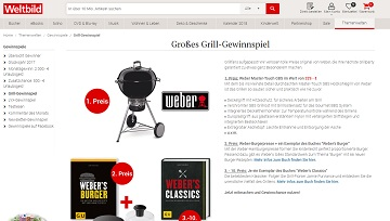 weber master touch gbs gewinnspiel grill gewinnen. Black Bedroom Furniture Sets. Home Design Ideas