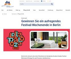 lollapalooza berlin tickets gewinnen 2019