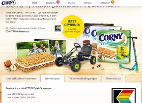 Corny De Kornfeldkonzerte Gewinnspiel