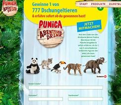 Punica Glücks-Code Gewinnspiel