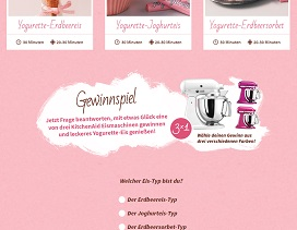 yogurette gewinnspiel k hlschrank gewinnen gewinnspiele 2018. Black Bedroom Furniture Sets. Home Design Ideas