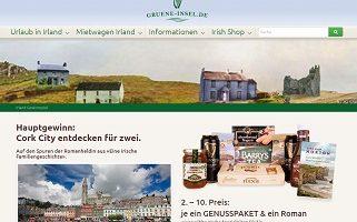 Irland Urlaub Gewinnspiel, Gruene-Insel Gewinnspiel