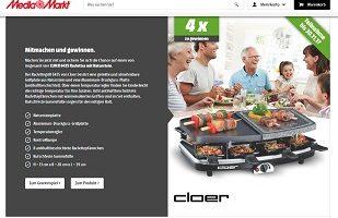 Cloer Raclette Gewinnspiel