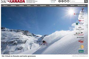 Ski Reise Kanada Gewinnspiel