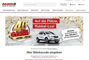 Toom.de/rubbeln,Toom Rubbellos Gewinnspiel, Toom Gewinnspiel