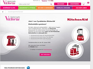 kitchenaid artisan gewinnspiel k chenmaschine gewinnen gewinnspiele 2018. Black Bedroom Furniture Sets. Home Design Ideas