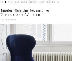 Wittmann ohrensessel gewinnspiel gewinnspiele 2017 for Ohrensessel wittmann