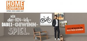 Haibike E-Bike Gewinnspiel, Home Company Gewinnspiel