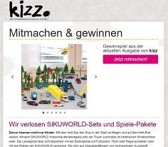 Sikuworld Gewinnspiel, Kizz Gewinnspiel