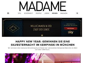 Madame Gewinnspiel Valentins Dinner Gewinnen