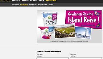 Island Reise Gewinnspiel