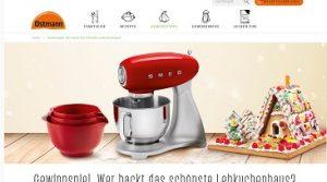 SMEG Küchenmaschine Gewinnspiel