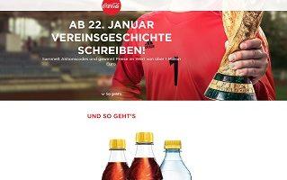 Coca Cola Aktionscode Gewinnspiel, Coca Cola Gewinnspiel