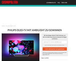 philips flachbildfernseher gewinnspiel led tv gewinnspiele 2018. Black Bedroom Furniture Sets. Home Design Ideas