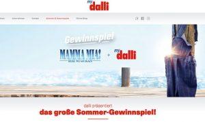 Griechenland Reise Gewinnspiel, Dalli Gewinnspiel