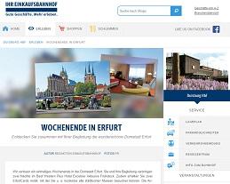 Erfurt Wochenende Gewinnspiel