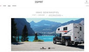 Kanada Wohnmobil Reise Gewinnspiel, Esprit Gewinnspiel