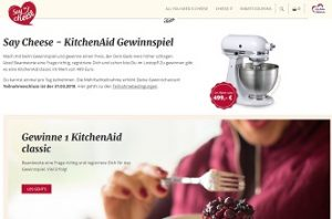 kitchenaid gewinnspiel k chenmaschine gewinnen gewinnspiele 2018. Black Bedroom Furniture Sets. Home Design Ideas